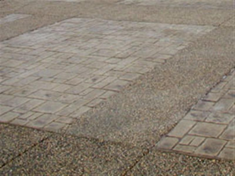 Stamped Concrete Panels : Countryside concrete inc exposed aggregate